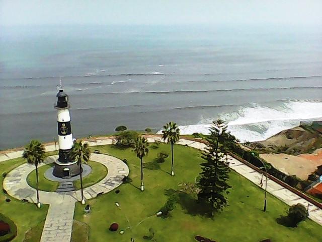 Miraflores Boardwalk Lima - YouTube
